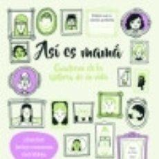 Libros: ASÍ ES MAMÁ. CUADERNO DE LA HISTORIA DE SU VIDA. Lote 128226092