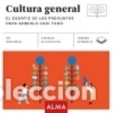 Libros: CULTURA GENERAL (CUADRADOS DE DIVERSIÓN). Lote 128227519