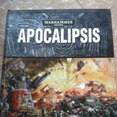 Libros: APOCALIPSIS WARHAMMER 40.000 GAMES WORKSHOP. Lote 129021520