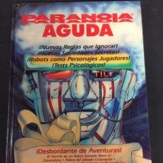 Libros: JUEGO DE ROL PARANOIA AGUDA. Lote 130620158