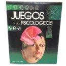 Libros: JUEGOS PSICOLOGICOS TESTE DE INTELIGENCIA CIRCULO DE LECTORES 1988. Lote 132003766