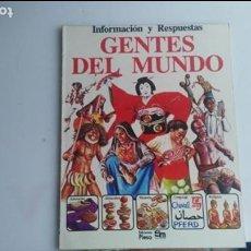 Libros: LIBRO GENTES DEL MUNO. Lote 133218578