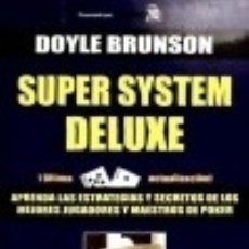 Libros: SUPER SYSTEM DELUXE. Lote 133243362