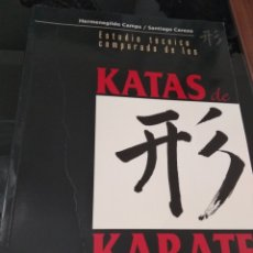 Libros: ESTUDIO TECNICO KATAS KARATE. Lote 133470578