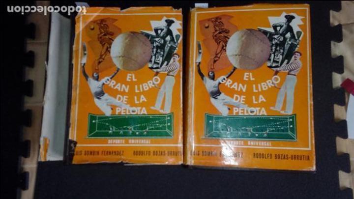 EL GRAN LIBRO DE LA PELOTA. LUIS BOMBIN&RODOLFO BOZAS-URRUTIA. (Libros Nuevos - Ocio - Deportes y Juegos)