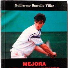 Libros: MONOGRAFIA DE MEDICINA DEPORTIVA GUILLERMO BARRALLO VILLAR, MEJORA DEL RENDIMIENTO DEPORTIVO IV. Lote 136294758