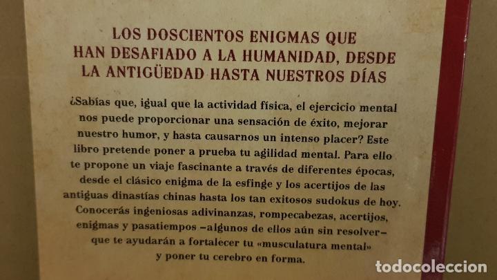 Libros: ENIGMAS Y JUEGOS DE INGENIO. PARA ROMPERSE LA CABEZA. ED / DEBOLSILLO - 5ª EDICIÓN. LIBRO NUEVO. - Foto 2 - 193230598