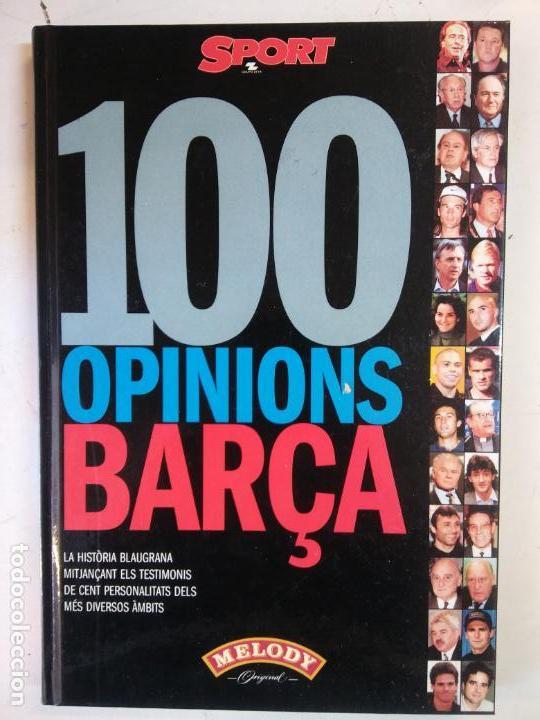 BJS. 100 OPINIONES BARÇA. EDT. SPORT. . (Libros Nuevos - Ocio - Deportes y Juegos)