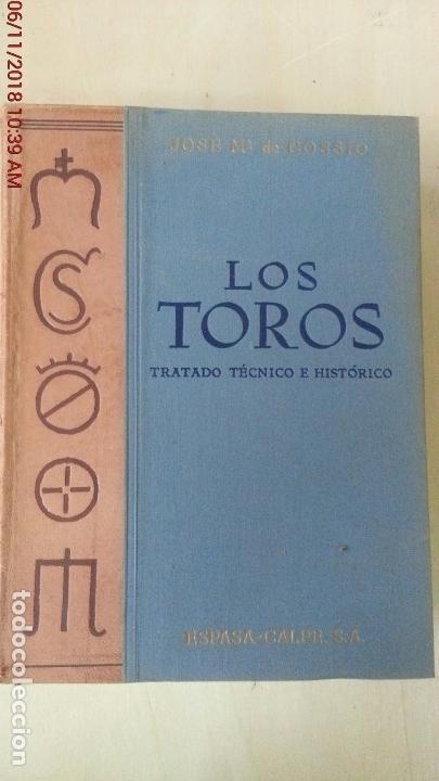 Libros: LOS TOROS - COSSIO - 1969 - TOMO III - EDITORIAL ESPASA-CALPE - Foto 3 - 140068282
