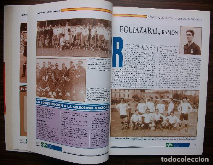 Libros: SELECCION ESPAÑOLA DE FUTBOL. SUS HOMBRES, UNO A UNO. TOMO II (DE LA D A LA H) M. SARMIENTO BIRBA - Foto 3 - 140804478