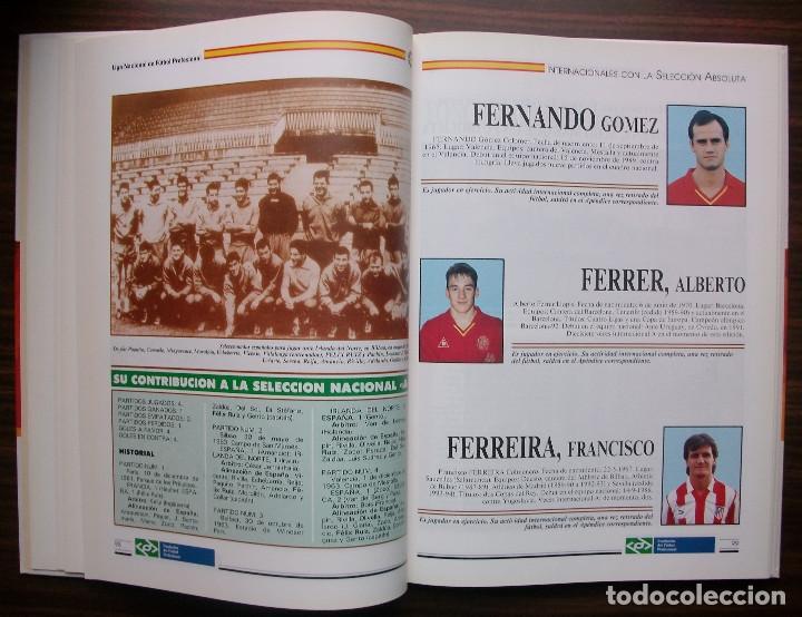 Libros: SELECCION ESPAÑOLA DE FUTBOL. SUS HOMBRES, UNO A UNO. TOMO II (DE LA D A LA H) M. SARMIENTO BIRBA - Foto 4 - 140804478