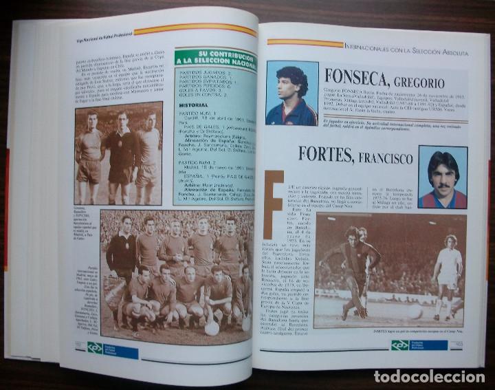 Libros: SELECCION ESPAÑOLA DE FUTBOL. SUS HOMBRES, UNO A UNO. TOMO II (DE LA D A LA H) M. SARMIENTO BIRBA - Foto 5 - 140804478