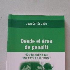 Libros: DESDE EL ÁREA DE PENALTI. Lote 143028978