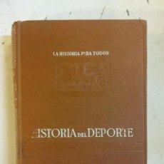 Livros: STQ. HISTORIA DEL DEPORTE. FABRICIO VALSERRA.. EDT. PLUS ULTRA. . . Lote 143358746