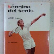 Libros: STQ.WYNN MACE.TECNICA DEL TENIS.EDT. HISPANO EUROPEA... Lote 143674870