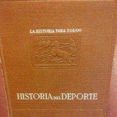 Libros: STQ.FABRICIO VALSERRA.HISTORIA DEL DEPORTE.EDT, PLUS ULTRA... Lote 143969590