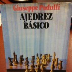 Libros: STQ.GIUSEPPE PADULLI.AJEDREZ BASICO.EDT, JUVENTUD... Lote 145980358