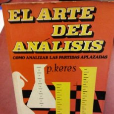 Libros: STQ.P. KERES. EL ARTE DEL ANALISIS.EDT, MARTINEZ ROCA... Lote 144023230