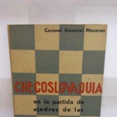 Libros: BJS.CORONEL EMANUEL MORAVEC.CHECOSLOVAQUIA.EDT, ORBIS.BRUMART TU LIBRERIA.. Lote 146241910