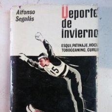 Libros: STQ. DEPORTE DE INVIERNO. ESQUI, PATINAJE, HOCKEY, TOBOGGANING, CURLING. BRUMART TU LIBRERIA. . Lote 146400538