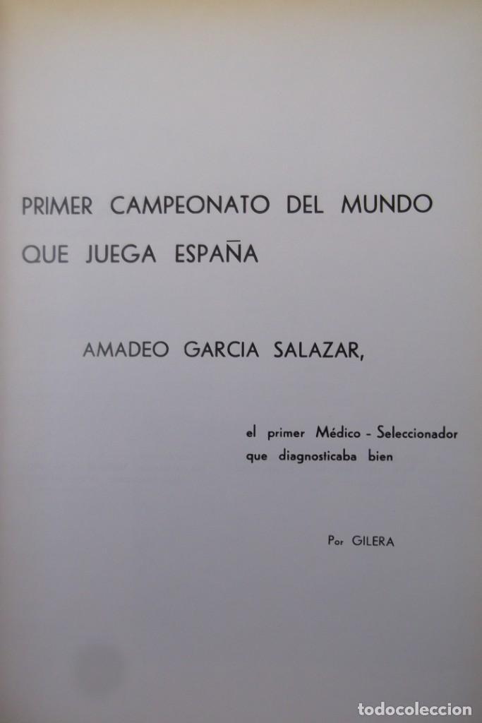 Libros: Lote OCASION-LA SELECCION ESPAÑOLA DE FUTBOL-2 Libros. - Foto 8 - 146518870