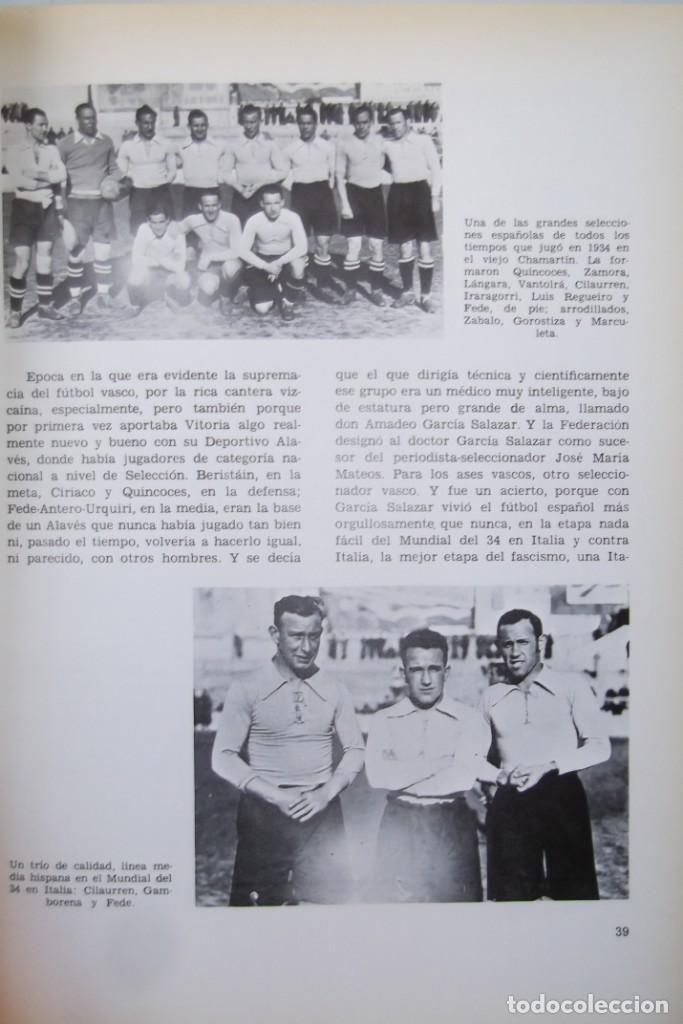 Libros: Lote OCASION-LA SELECCION ESPAÑOLA DE FUTBOL-2 Libros. - Foto 9 - 146518870