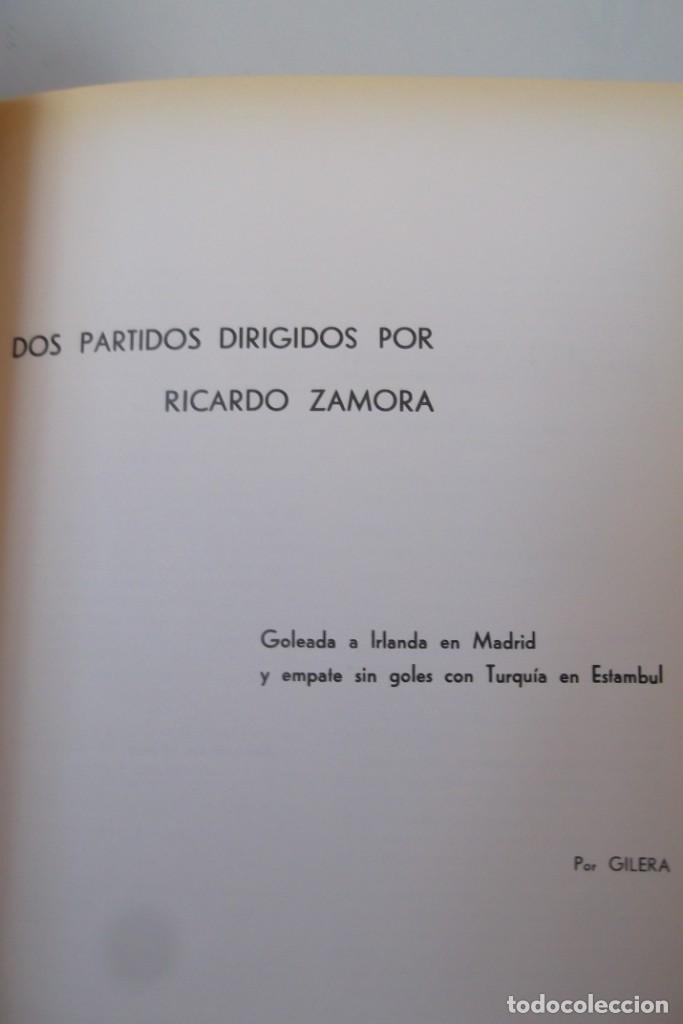 Libros: Lote OCASION-LA SELECCION ESPAÑOLA DE FUTBOL-2 Libros. - Foto 11 - 146518870