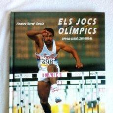 Libros: ELS JOCS OLÍMPICS 1988 OLIMPISME PREVI A OLIMPÍADES BARCELONA 92 EXCELENTES IMÁGENES. Lote 147830222