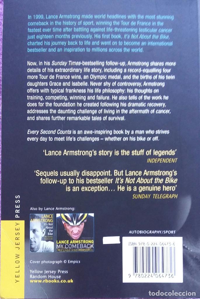 Libros: Libro Lance Armstrong - Foto 2 - 149775690
