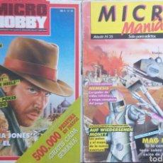 Libros: MICRO MANÍA 25, MICRO HOBBY, 156. Lote 150378637