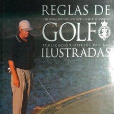 Libros: REGLAS DE GOLF ILUSTRADAS / THE ROYAL AND ANCIENT GOLF CLUB OF ST. ANDREWS. TUTOR, 2000.. Lote 156692270