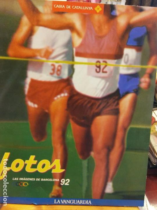 STQ.FOTOS LAS IMAGENES DE BARCELONA 92.EDT, LA VANGUARDIA.BRUMART TU LIBRERIA. (Libros Nuevos - Ocio - Deportes y Juegos)