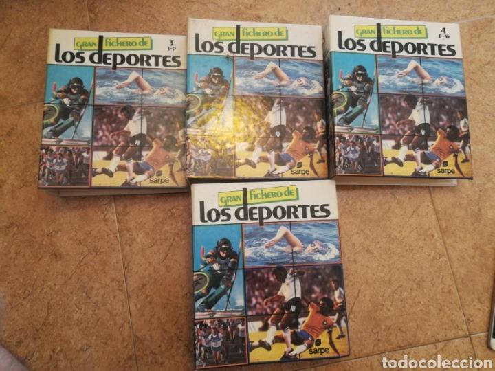 GRAN FICHERO DE LOS DEPORTES COMPLETO (Libros Nuevos - Ocio - Deportes y Juegos)