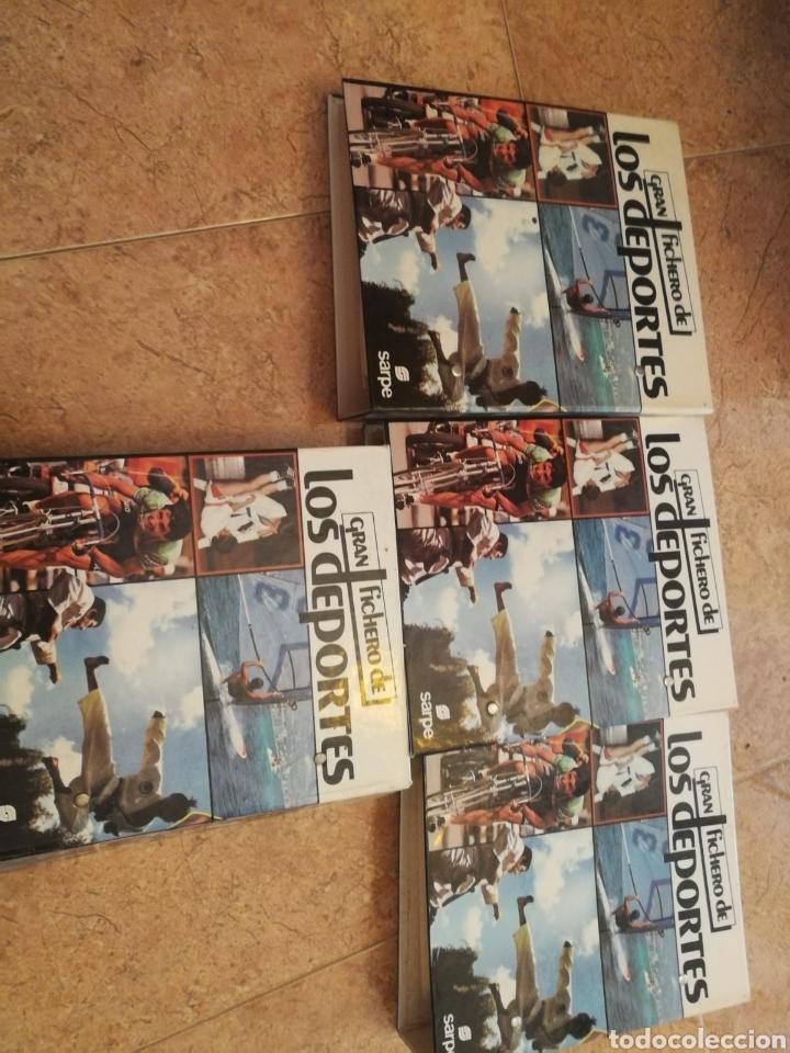 Libros: Gran fichero de los deportes completo - Foto 2 - 163443638