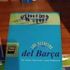 Libros: LOS SECRETOS DEL BARÇA. Lote 165261152