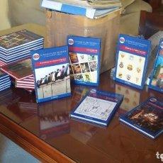 Libros: BIBLIOTECA FC BARCELONA. 30 LIBROS NUMERADOS. HISTORIA POR ETAPAS . Lote 165799138