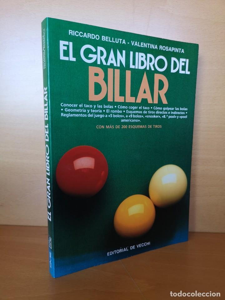 LIBRO DE BILLAR (Libros Nuevos - Ocio - Deportes y Juegos)