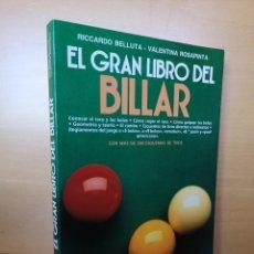 Libros: LIBRO DE BILLAR. Lote 166666670