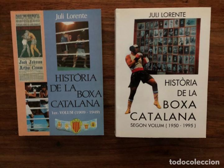 HISTÒRIA DE LA BOXA CATALANA DE JULI LORENTE. 2 VOLÚMENES . TOT EDITORIAL (Libros Nuevos - Ocio - Deportes y Juegos)