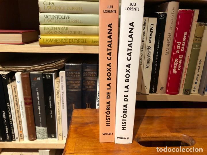 Libros: Història de la boxa Catalana de Juli Lorente. 2 volúmenes . Tot Editorial - Foto 3 - 166842834