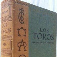 Libros: LOS TOROS - COSSIO - 1967 - TOMO I - EDITORIAL ESPASA-CALPE. Lote 140067898