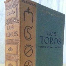 Libros: LOS TOROS - COSSIO - 1969 - TOMO III - EDITORIAL ESPASA-CALPE. Lote 140068282