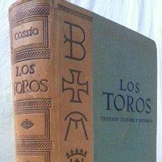 Libros: LOS TOROS - COSSIO - 1967 - TOMO IV - EDITORIAL ESPASA-CALPE. Lote 140068538