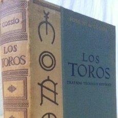 Libros: LOS TOROS - COSSIO - 1969 - TOMO II - EDITORIAL ESPASA-CALPE. Lote 140083770