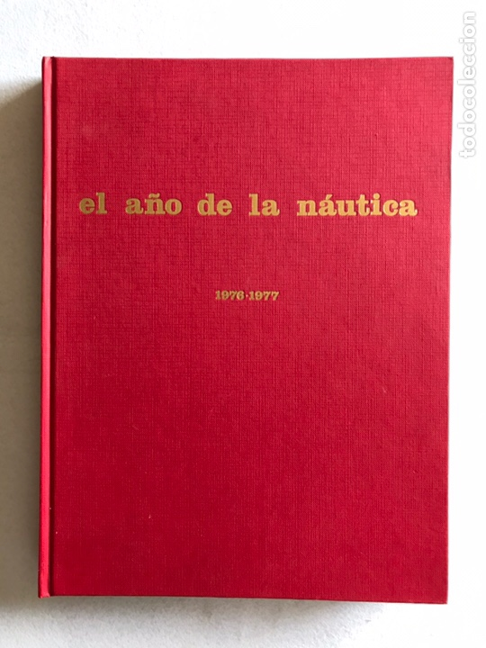 EL AÑO DE LA NÁUTICA. TOMO 1976-1977. EDISPORT. (Libros Nuevos - Ocio - Deportes y Juegos)