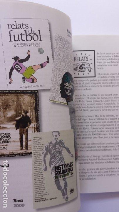 Libros: LIBRO HISTÒRIES SOLIDÀRIES DE LESPORT. 6 - Foto 3 - 173854205