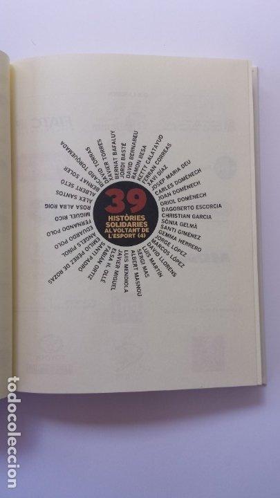 Libros: LIBRO HISTÒRIES SOLIDÀRIES DE LESPORT. PRÒLEG DE LEO MESSI. - Foto 2 - 173854624