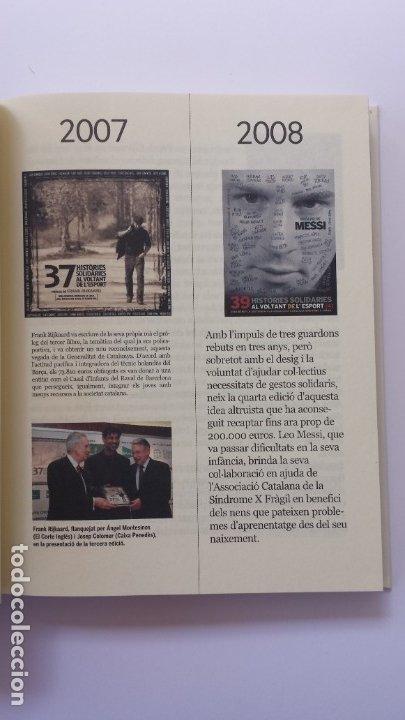 Libros: LIBRO HISTÒRIES SOLIDÀRIES DE LESPORT. PRÒLEG DE LEO MESSI. - Foto 3 - 173854624