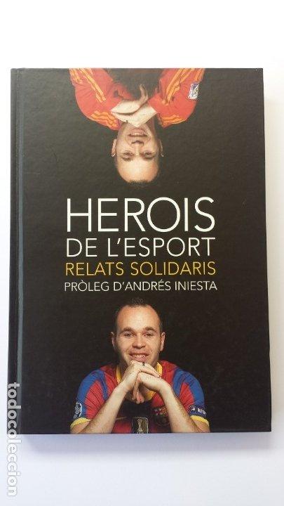 LIBRO HISTÒRIES SOLIDÀRIES DE L'ESPORT 7. PRÒLEG DE ANDRÉS INIESTA. (Libros Nuevos - Ocio - Deportes y Juegos)