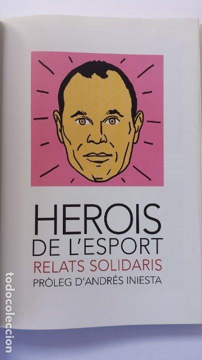 Libros: LIBRO HISTÒRIES SOLIDÀRIES DE LESPORT 7. PRÒLEG DE ANDRÉS INIESTA. - Foto 2 - 173854763